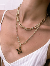 Load image into Gallery viewer, 15MM OPEN LINK CHAIN NECKLACE