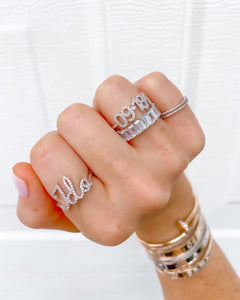 PERSONALIZED DATE RING