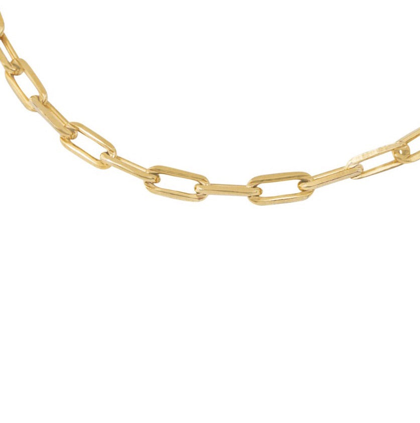 5MM OPEN LINK CHAIN BRACELET