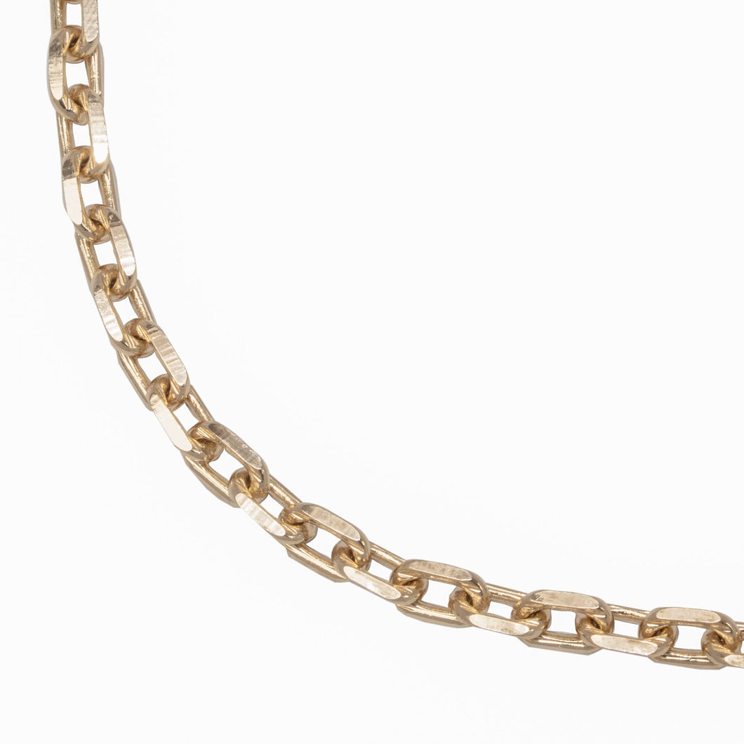 ROUND LINK CHAIN NECKLACE