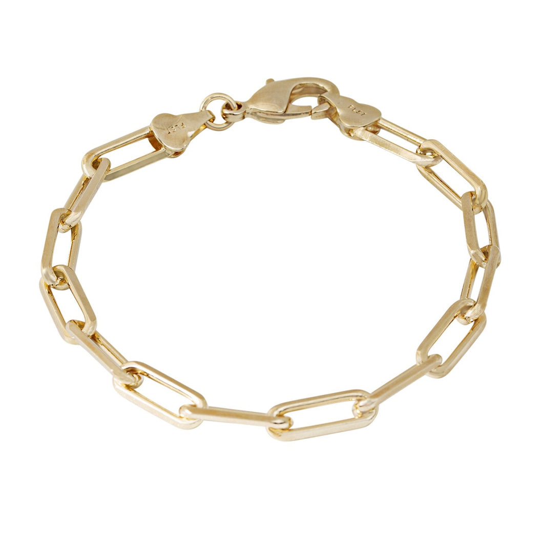 10MM OPEN LINK CHAIN BRACELET