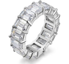 Load image into Gallery viewer, EMERALD ETERNITY BAND