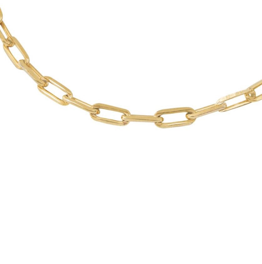 5MM OPEN LINK CHAIN NECKLACE