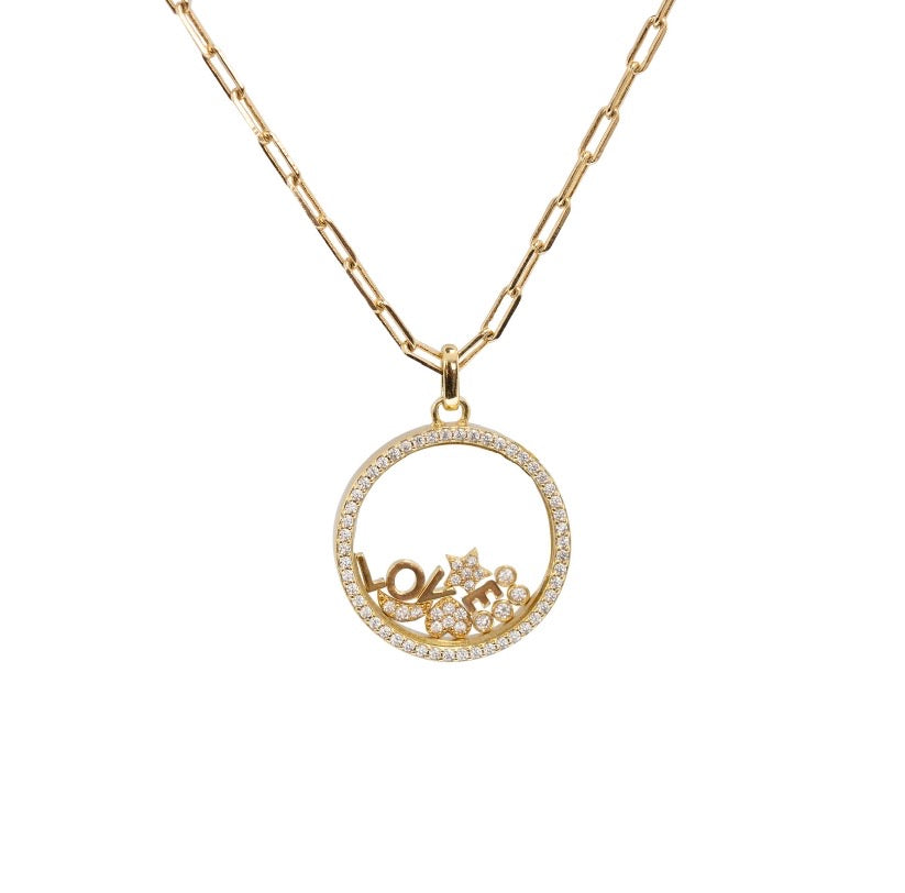 FLOATING CHARM LOCKET