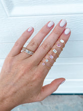 FANCY SHAPE CHAIN RINGS