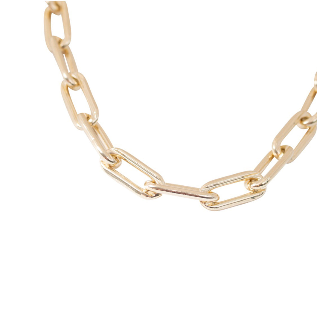 15MM OPEN LINK CHAIN NECKLACE