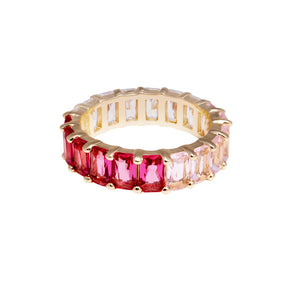 OMBRE ETERNITY BANDS