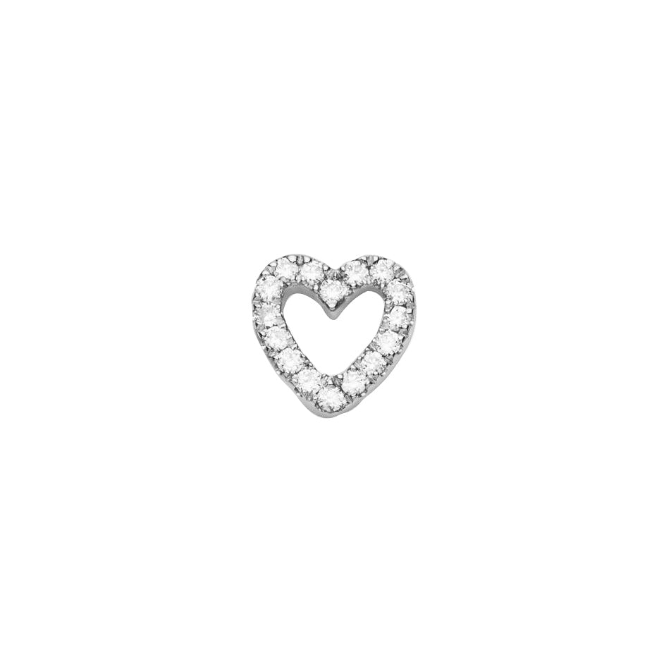 DIAMOND HEART (WHITE)
