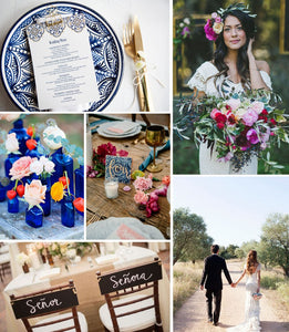 Spanish Wedding Inspiration Board