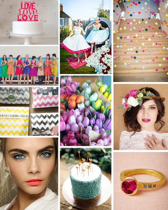 Summer Wedding Brights