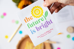 Bright Future Sunflower Birthday Party Favours
