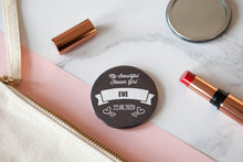 Personalised Chalkboard Big Badge or Mirror