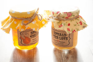 18 'Spread the Love' Jam Favour Stickers