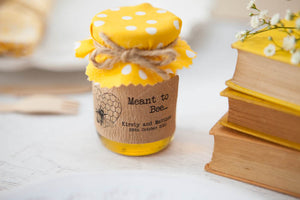 18 'Meant to Bee' Honey Favour Stickers