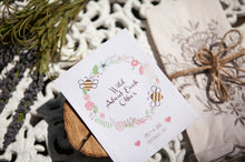 'Wild About Each Other' Personalised Seed Packet Favour