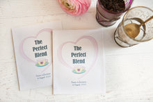 'The Perfect Blend' Personalised Tea Packet Favour