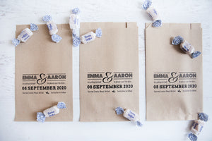 Save The Date Paper Goodie Bag
