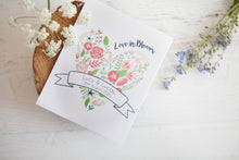 'Love in Bloom' Personalised Seed Packet Favour