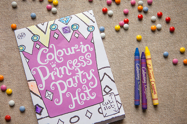 Colour In & Cut Out Princess Crown