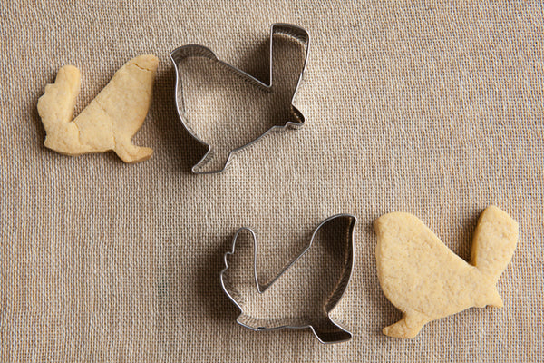 Set of 2 Lovebirds Cookie Cutters