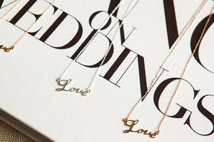 It Must be 'Love' Necklace