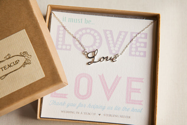 It Must Be Love Necklace