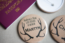Personalised Stag Do Big Bold Badge
