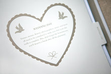 Lacy Love Heart Wedding Planner Book