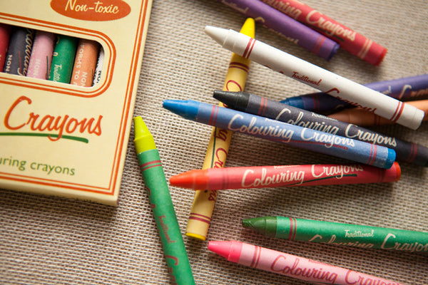 Pack of 12 Traditional Crayons