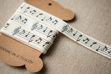 Music Lovers Cotton Ribbon