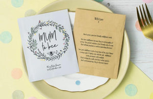 'Mum To Bee' Baby Shower Seed Packet Favours