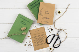 No Rain, No Flowers Personalised Lavender Seed Packet