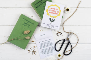 Keep On Keeping On Personalised Sunflower Seed Packet