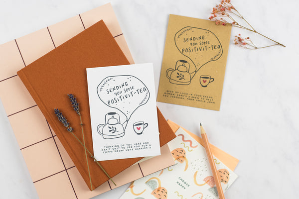 Positivit-Tea Personalised Cuppa Card