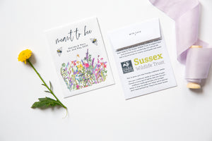 Sussex Wildlife Trust Charity Meant To Bee Seed Packets
