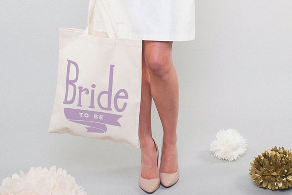 Bride to Be' Canvas Tote Bag