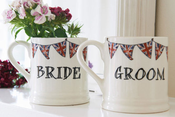 Handmade Wedding Party Mugs