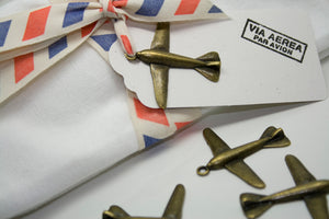 Par Avion Cotton Ribbon