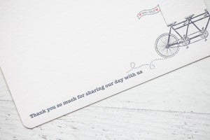 Bicycle Made for Two Wedding Stationery