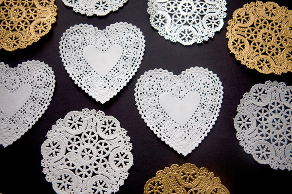 Set of Mini Decorative Doilies