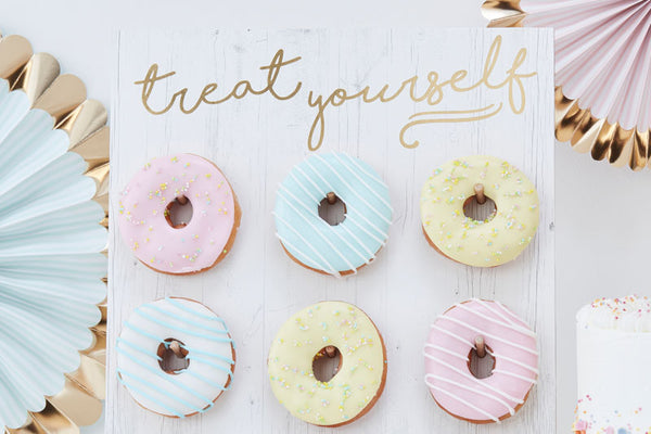 Treat Yourself' Donut Wall