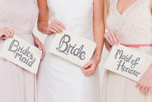 The Wedding Party Canvas Pouch
