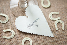 Just Married' Paper Horseshoe Confetti