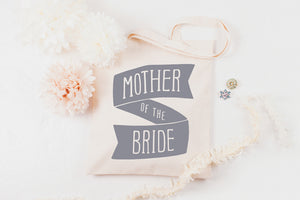 Mother of the Bride' Canvas Tote Bag