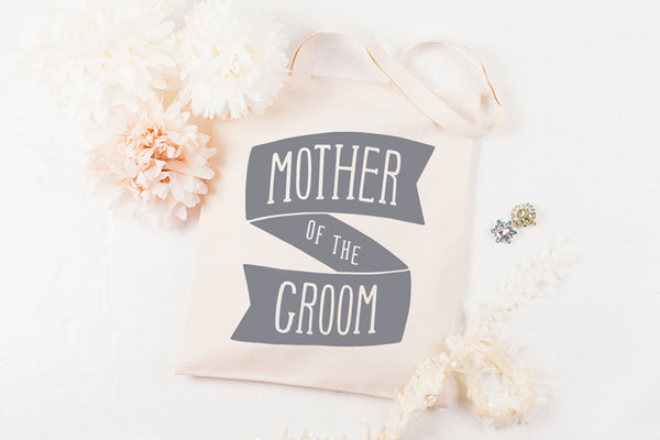 Mother of the Groom' Canvas Tote Bag