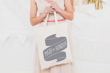 Maid of Honour' Canvas Tote Bag
