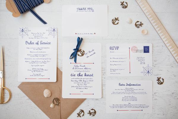Nautical But Nice DIY Invitation Pack