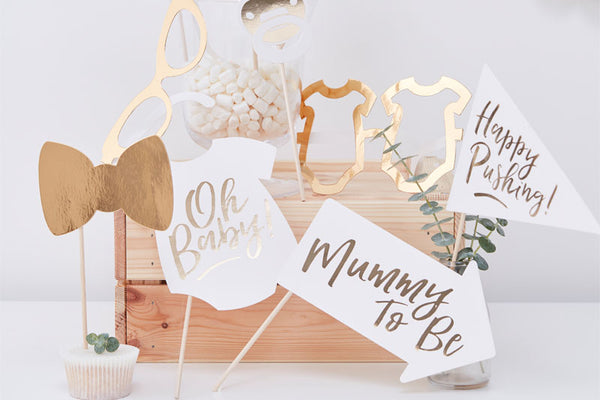 Baby Shower Photo Booth Prop Kit