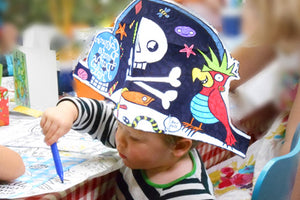 Colour In & Cut Out Pirate Hat