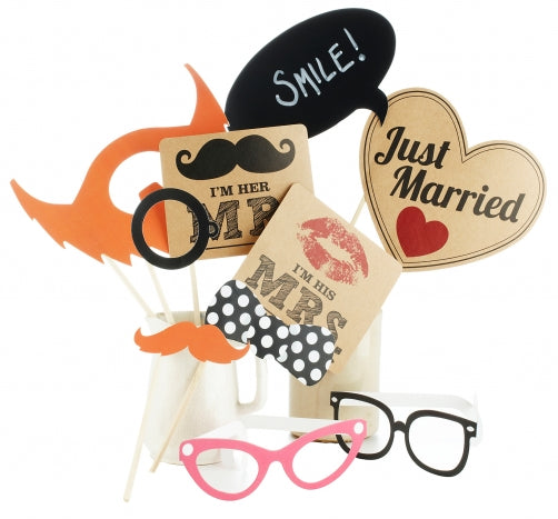 Fun Photo Booth Prop Kit